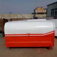可卸式垃圾箱 五立方垃圾箱 钩臂垃圾箱生产厂家