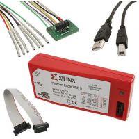 Xilinx platform cable usb下载线 HW-USB-II-G DLC10原装热卖