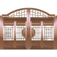 北京铜升庭院铜门价格
