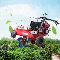 土豆封沟机 富兴大棚草莓种植起垄机 蔬菜开沟培土机价格