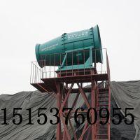 风清提供河南堆料场高塔式喷雾设备
