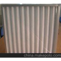 折叠板式初效过滤器 铝合金外框初效板式空气过滤器生产厂家 量产