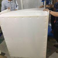 定做乳白色中空板围板箱生产厂家大型中空板刀卡 四川工厂