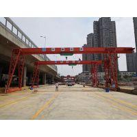 中建安装工程有限公司长沙轨道交通五号线基地龙门吊顺利安装完毕