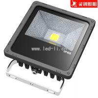 湖南长沙七彩LED投光灯厂家 保障/保证 寿命长 高光效性价比高灵创照明