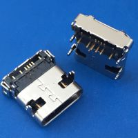 USB 3.1 TYPE-C板上带弹片母座/DIP+SMT/四脚插板前插后贴/后盖全包