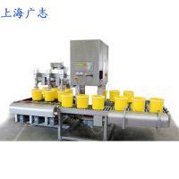 玻璃胶半自动灌装机固化剂胶水灌装机上海广志常压罐装