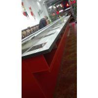 火锅餐桌 旋转台 回转火锅设备万仕和厂家供应