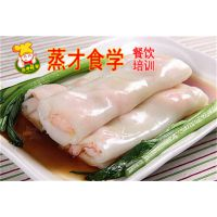 广东肠粉培训 湘式肠粉辣酱制作 学习广东原味肠粉