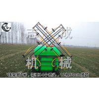 拖拉机后面挂的打药机 折叠样式的车载喷雾机 地瓜小麦打药机