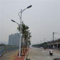 球场照明灯光安装、清远市直杆灯杆定做、8米一拖二直杆