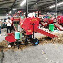 实用新型玉米秸秆青储技术 吉林销售圣泰玉米秸秆青贮打捆机