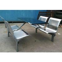 不锈钢连体餐桌椅*四人连体餐桌椅*连体餐桌椅3d模型