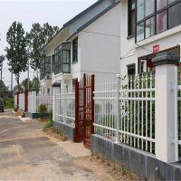 专业生产小区护栏 锌钢护栏 方管喷塑学校围墙护栏