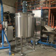 中型液体搅拌机 液体加热搅拌机 定制不锈钢化工搅拌桶