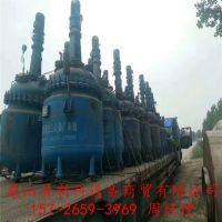 出售二手500L电加热搪瓷反应釜供应商