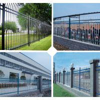 佛山防护栏订购 深圳市政护栏锌钢护栏 江门厂区组装栏杆
