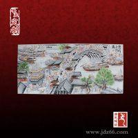清明上河图陶瓷瓷板画