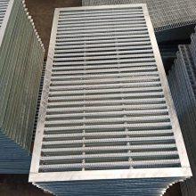 甘肃平台格子板 树池格子板 检修平台金属格子板 卸煤坑过滤用格子板