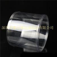 优质PVC圆筒 透明环保包装盒 塑料胶圆筒卷边礼品盒定制批发