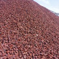 厂家批发污水处理用火山石 人工湿地用火山石 园艺火山石