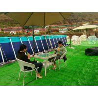 支架水池优惠活动进行中 水世界儿童水上乐园 可拆卸支架游泳池