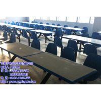 宁夏玻璃钢连体餐桌椅、餐桌椅、宁夏餐桌椅生产厂家