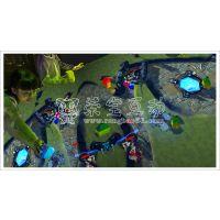 好玩桌面互动投影互动积木/荣宝互动AR儿童乐园
