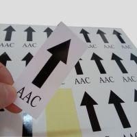 厂家直销 卷筒不干胶标签 铜版纸电子标签定制 耐高温耐腐蚀包邮