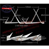 誉诚 YCSW中号刺钉B1 用于围墙大门防爬美化 1.25m长 1.75kg 可定制 纸箱防潮纸包装