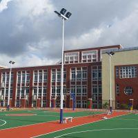 7人足球场灯杆高度 11人足球场灯光设计 中山雅浩生产高杆灯厂家