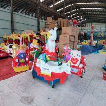 六座旋转升降熊出没游乐设备,广场公园炫彩儿童玩具,旋转飞椅
