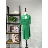 广州伊曼服饰品牌女装折扣库存批发,欧路艾米连衣裙
