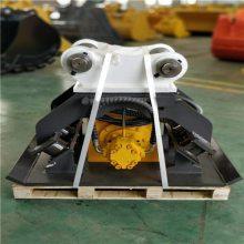 海能达定制各大挖机匹配振动夯 卡特324D液压夯实器 沟渠堤坝打夯机