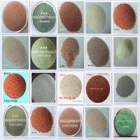 驰霖供应高品质彩砖用彩色沙子地砖专用沙文化砖专用沙