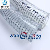 鑫翔宇PVC透明钢丝增强软管,水泵抽水管,耐高压耐酸碱软管