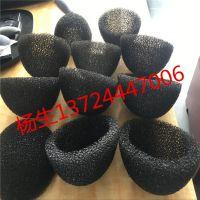 深圳源头厂家定做 粗孔海绵 过滤海绵异型加工 爆破海棉管