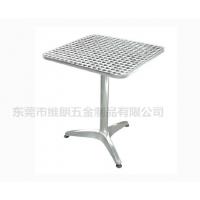 铝合金户外餐桌、小户型餐桌、简约现代圆桌