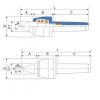 N台湾丽勋LI-HSUN 高速顶针 NCH-MT.5BT