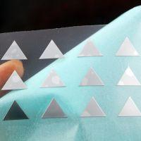 来图定做自粘电铸纯镍标 电铸不干胶logo镍标 镀铬金属超薄贴字立体镍标