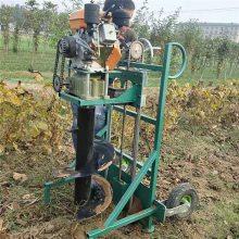 挖坑机多少钱一台 启航牌家用手提式挖坑机 小型园林挖洞机