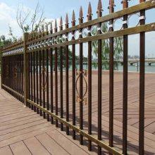 防腐围栏、电厂穿插式方管护栏,焊接铁栏杆 梅州水库烧焊隔离栅
