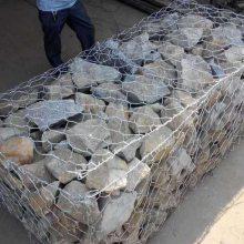 临沂河道防洪生态护岸石笼网垫实体厂家——10*13cm孔镀锌石笼网