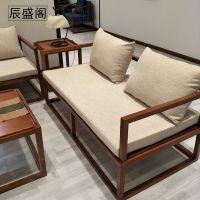 新中式家具茶桌。书桌组合辰盛阁家具