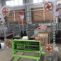 养猪自动料线可实现全自动操作养猪场自动化设备定量桶料线设备