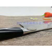 阳江刀具厂家直销 钢座复合钢厨房刀具组合7件套 好厨娘