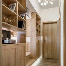 湖南高端原木家具原木木门、 胡桃木室内门定做油漆环保