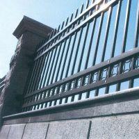 南通市崇川区港闸区锌钢围栏栅栏门定做圈地围墙栏杆安装厂家