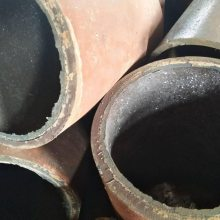 90°耐磨弯头耐腐蚀dn250 R=1000离心铸造陶瓷