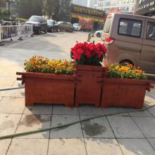 西双版纳实木组合花箱品质保证,公园花箱招经销商,现货